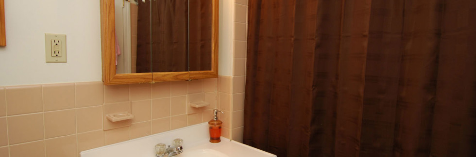 Bathroom at Sanford Manor Apartments
